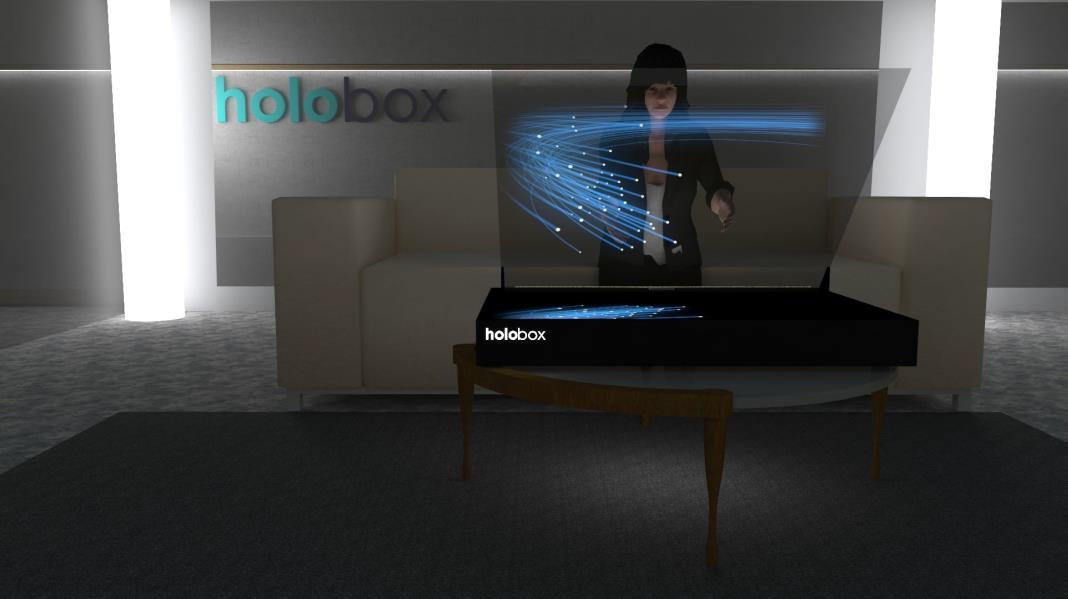 holobox - artificial expo