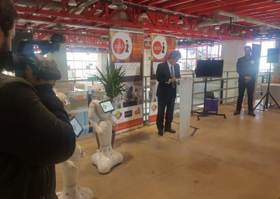Embajador de Japon en Artificial Expo - Grupo ADD